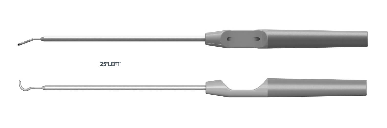 3330 - Suture PASS - Pasador de suturas en técnicas artroscópicas - 25º LEFT