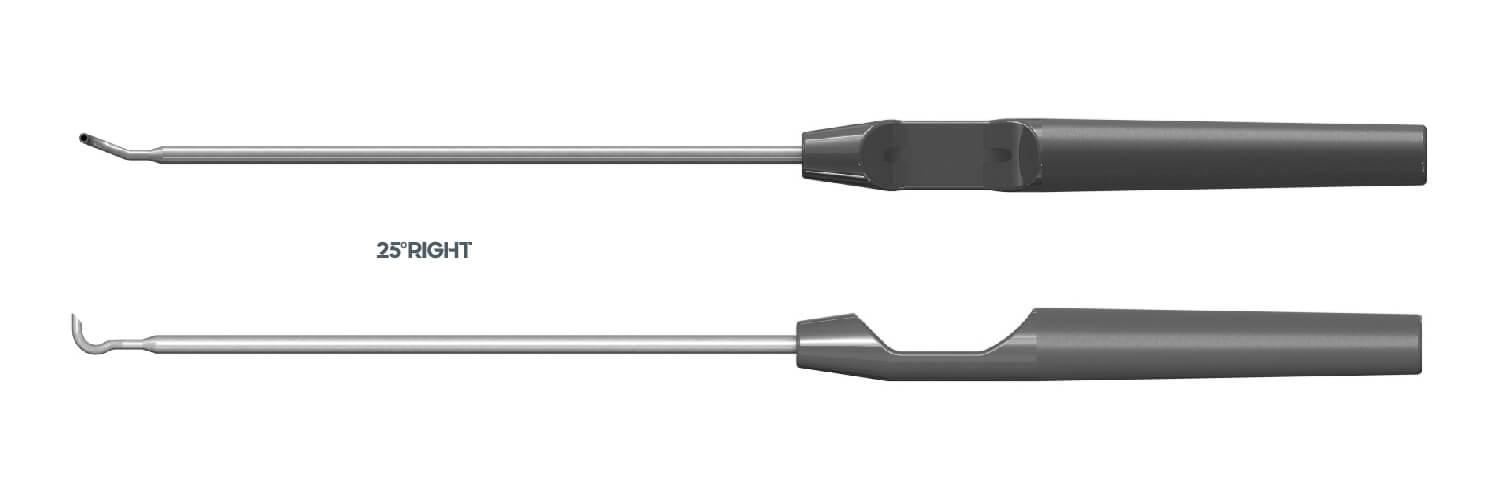 3331 - Suture PASS - Pasador de suturas en técnicas artroscópicas - 25º RIGHT