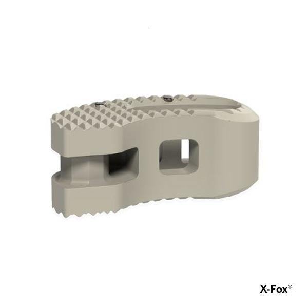 2134-000 - X-Fox - Cage para fusión intersomática lumbar transforaminal