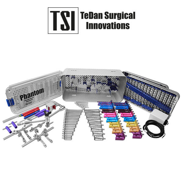 TeDan Surgical Innovations - ML-2000 - Phantom ML™ Minimally Invasive Retractor Set