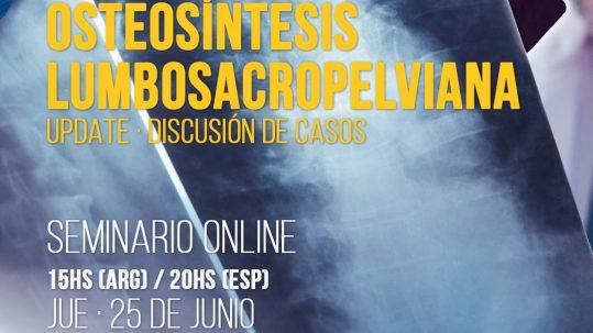 Webinar Osteosintesis Lumbosacropelviana